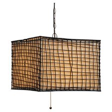 Trellis 1 Light Outdoor Pendant