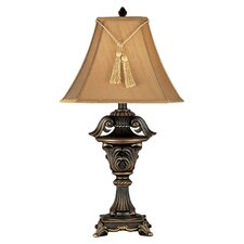 "Rowan North 33"" Table Lamp with Bell Shade"