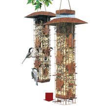 Squirrel-Be-Gone Caged Bird Feeder