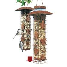 Squirrel-Be-Gone Caged Bird Feeder