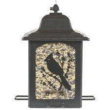 Birds and Berries Lantern Decorative Bird Feeder