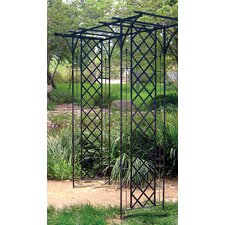 Garden Arbor with Lattice