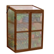 "30"" W x 22"" D Polycarbonate Cold Frame Growhouse"