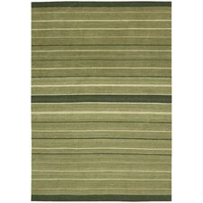 Griot ZeZe Thyme Striped Rug