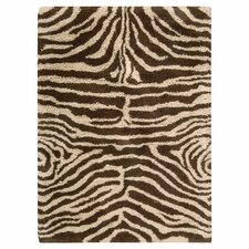 Splendor Ivory Brown Rug