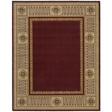 Vallencierre Burgundy Rug
