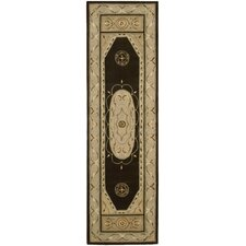 Versaille Palace Brown Rug