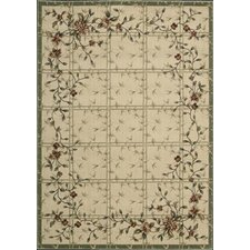 Cambridge Ivory Green Rug