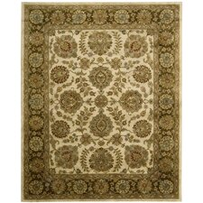 Jaipur Ivory/Brown Rug
