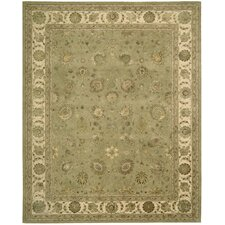 <strong>Nourison</strong> Nourison Light Green/Tan Rug