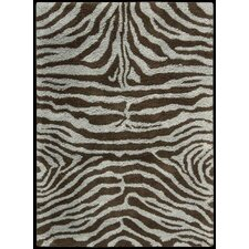 Splendor Aqua Brown Rug