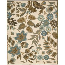 <strong>Nourison</strong> In Bloom Ivory Rug