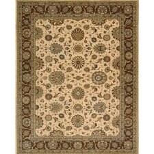 Living Treasures Beige Rug