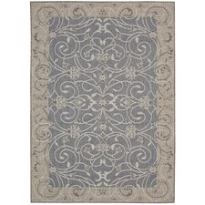 Eclipse Blue Outdoor Rug