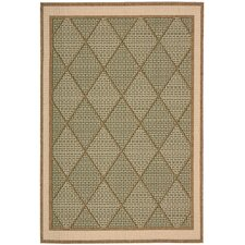Eclipse Green Rug