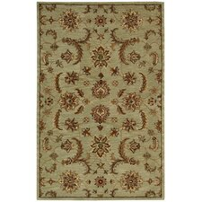 <strong>Nourison</strong> India House Light Green Rug