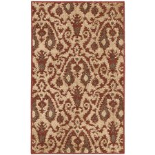 Kindred Ivory/Red Outdoor Rug