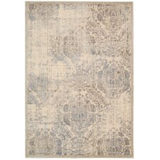 Graphic Illusions Ivory Rug