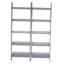 "Leaning 75.5"" Bookcase"