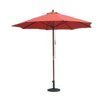 9' Wooden Pole Market Umbrella