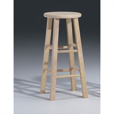 "<strong>International Concepts</strong> Unfinished Wood 30"" Bar Stool"