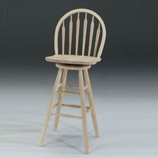 "30"" Arrowback Windsor Swivel Stool"