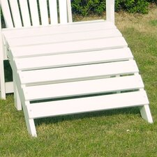 Adirondack Collection White Footrest