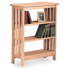 "Mission 36"" H Three Tier Bookshelf"