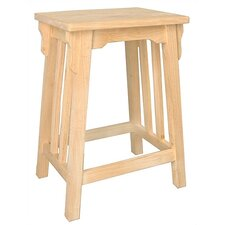 Unfinished Mission Counter Stool