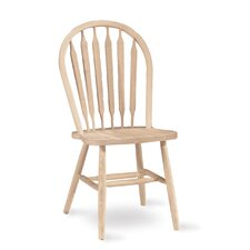 <strong>International Concepts</strong> Unfinished Wood Arrowback Side Chair