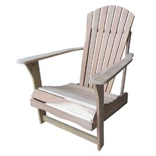 "<strong>International Concepts</strong> 37"" Adirondack Chair"