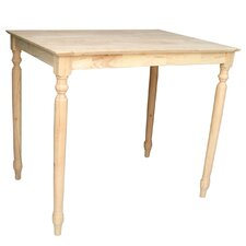 Turned Counter Height Dining Table