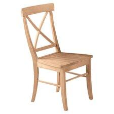 Cross Back Side Chair (Set of 2)