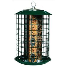 Safe Haven with Metal Trays Feeder
