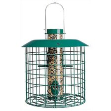 Squirrel Proof Accent Selective Caged Bird Feeder