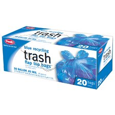 Recycling Trash Bags (Pack of 20)