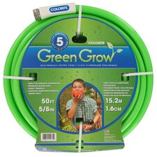 "<strong>Swan</strong> 0.63 x 50"" Element Green and Grow Water Hose"