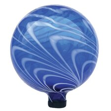Swirl Glass Gazing Globe