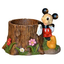 Disney Mickey Mouse Stump Planter