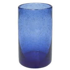 Iris Highball Glass in Cobalt Blue (Set of 4)