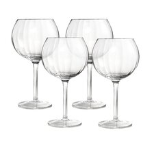 Optic 20 Oz Balloon Glass (Set of 4)