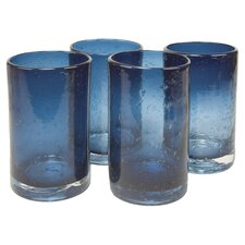 Iris Highball Glass in Slate Blue (Set of 4)