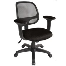 "Breezer 17.75"" Mesh Task Chair with Arms"