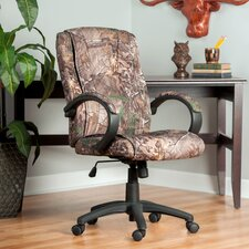 Realtree© Relaxzen Mid-Back Executive Chair