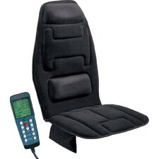 Ten Motor Massaging Seat Cushion in Charcoal Gray