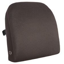 <strong>Comfort Products</strong> Memory Foam Lumbar Cushion with Massage