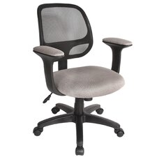 Breezer Mid Back Mesh Office Task Chair
