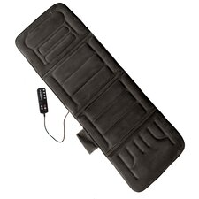 10-Motor Massage Plush Mat with Heat