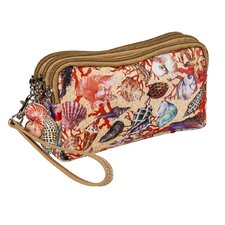 Seashell Accessories Pouch