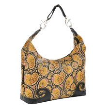 <strong>Sydney Love</strong> Paisley Print Hobo Bag